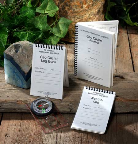 water proof log books